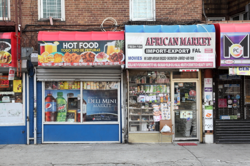 FAL African Market and neighbor  Mount Eden  Bronx
