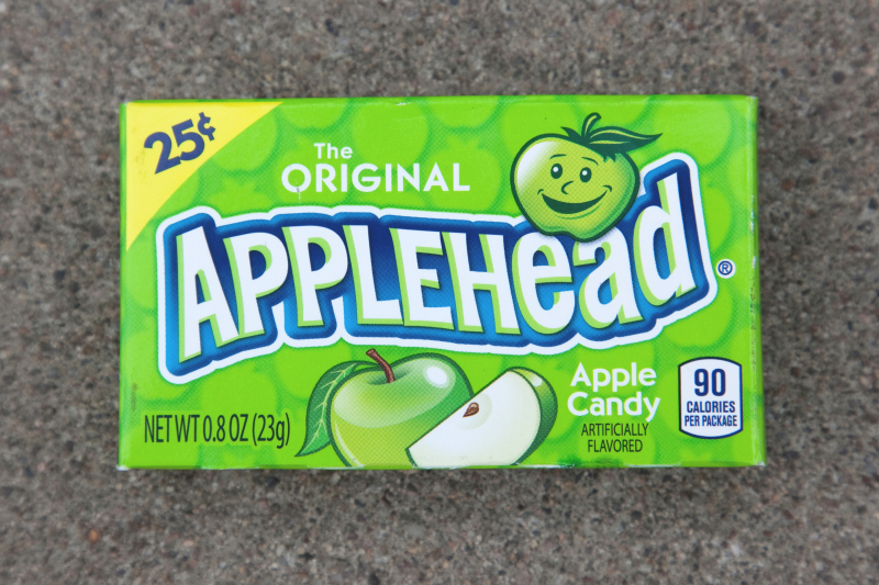 Applehead apple candy  Archie's Corner  Elizabeth  New Jersey
