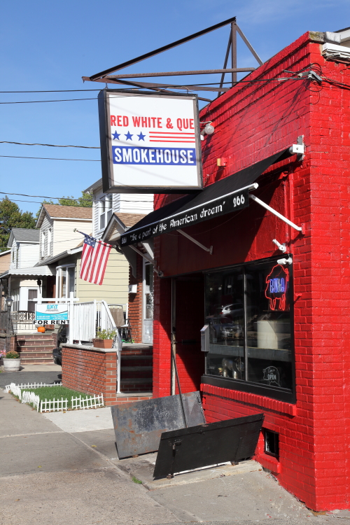Red White & Que Smokehouse  Kearny  New Jersey