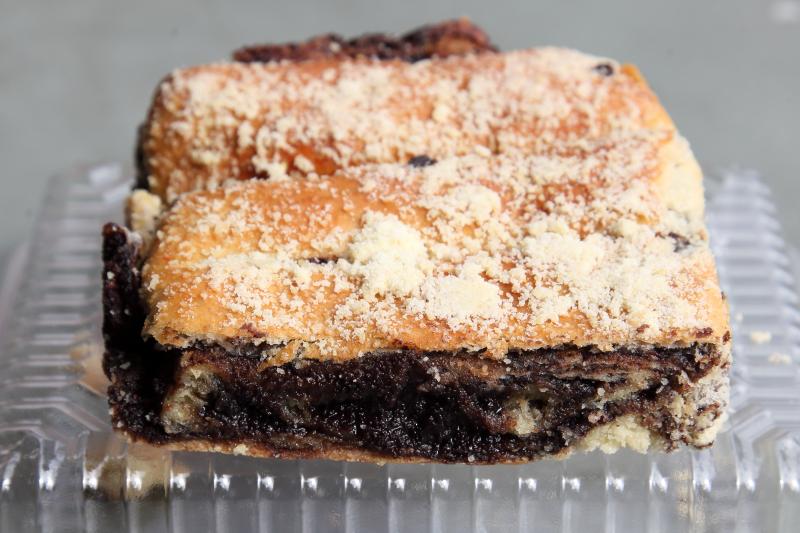 Chocolate flatka  D'Vine Taste  Park Slope  Brooklyn