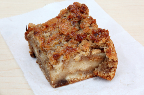 Bread pudding  Royal Bakery  Crown Heights  Brooklyn