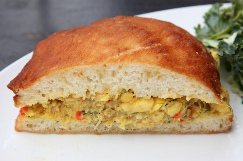 Bake with ackee and salt fish  Imani  Fort Greene  Brooklyn