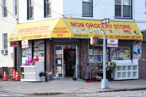 Under new management  Mom Grocery Store  Gravesend  Brooklyn