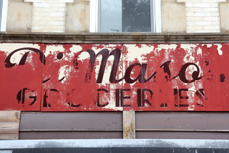 Di Maso's Groceries  surviving signage  Prospect Heights  Brooklyn