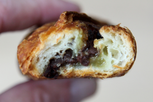 Choco twist (biteaway view)  Le Fournil  Second Ave  Manhattan