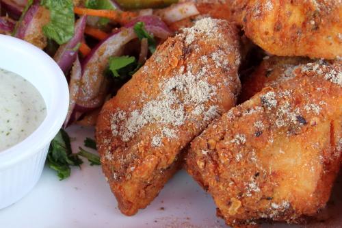 Fish amritsari  Angel Indian Restaurant  Jackson Heights  Queens