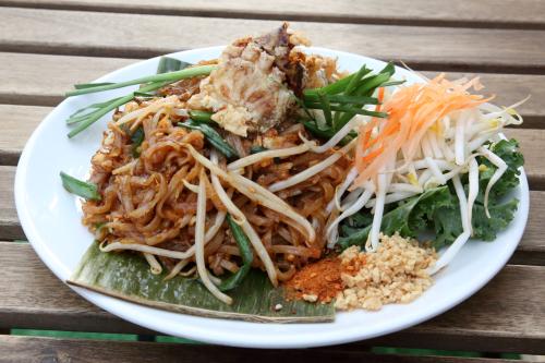 Chantaburi-style pad thai  Pad Thai Kitchen  Bensonhurst  Brooklyn