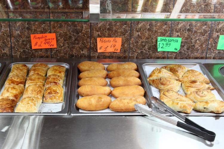 Hot-food display  Tarim Gourmet Food Market  Homecrest  Brooklyn