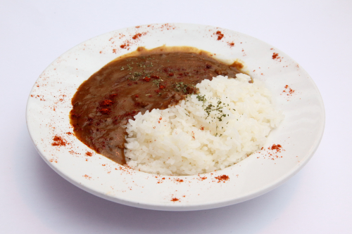 Lamb curry rice  Dr Clark  Bayard St  Manhattan