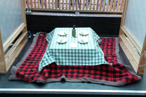 Kotatsu booth  Dr Clark  Bayard St  Manhattan