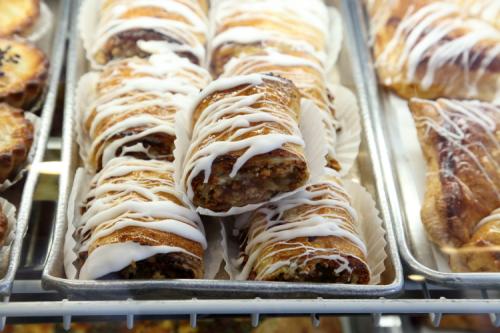 Apple strudel  Rimini Pastry Shoppe  Bensonhurst  Brooklyn