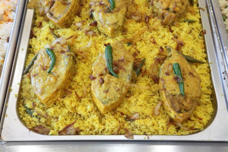 Ilish pulao  Boishakhi Restaurant  Ozone Park  Queens