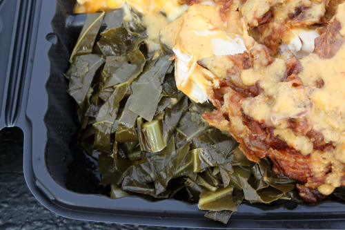 Collard greens  Johnson's BBQ  Woodstock  Bronx