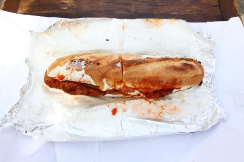 Veal parmigiana hero (#41)  Lioni Italian Heroes  Bensonhurst  Brooklyn