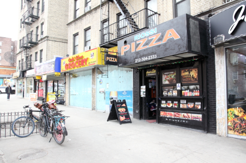Riossi Pizza and neighbors  Broadway  Manhattan