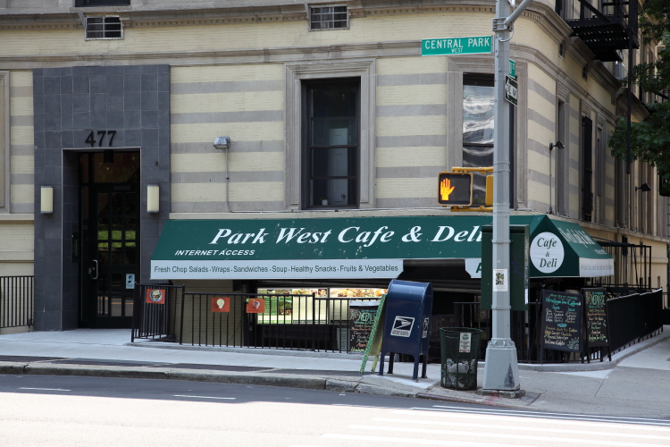 Park West Cafe & Deli  Central Park West  Manhattan