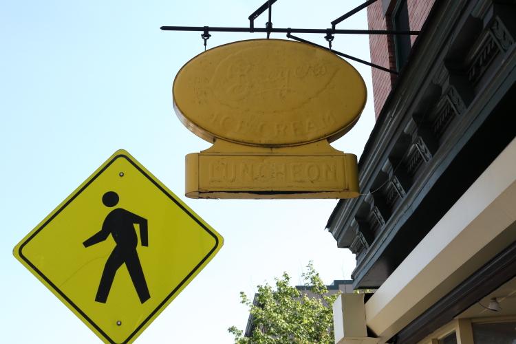 Breyer's Ice Cream  luncheon  surviving privilege signage  Baonanas  Jersey City