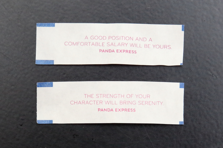 Fortunes  Panda Express  Broadway  Manhattan