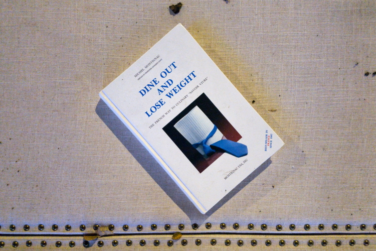 Dine Out and Lose Weight  abandoned book  Broadway  Manhattan