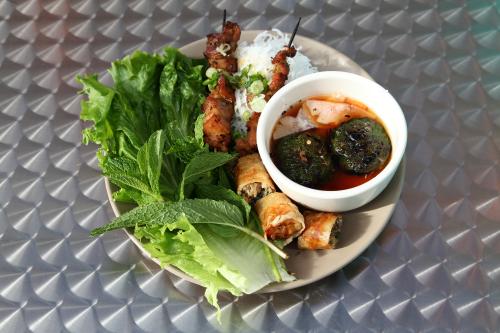 Bún chả  Vietnamese barbecue  Bánh Vietnamese Shop House  Amsterdam Ave  Manhattan