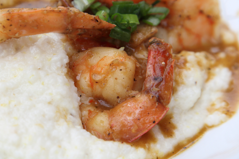 Jerk shrimp and grits  Imani  Fort Greene  Brooklyn