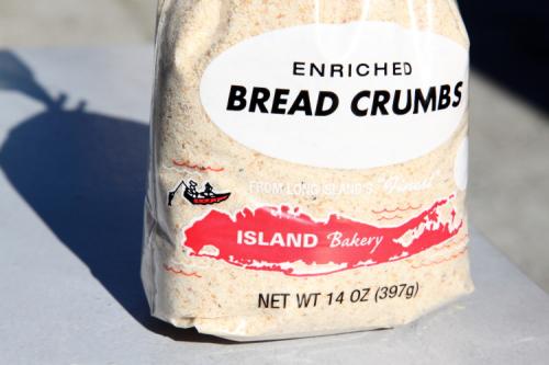 Bread crumbs from Island Bakery  Astoria  Queens