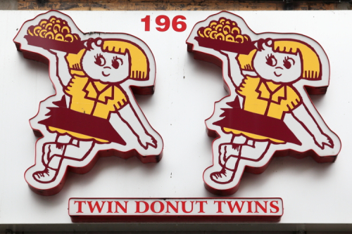 Twin Donut twins  Concourse Village  Bronx