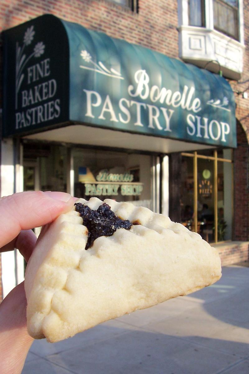 Prune hamentash  Bonelle Pastry Shop  Forest Hills  Queens