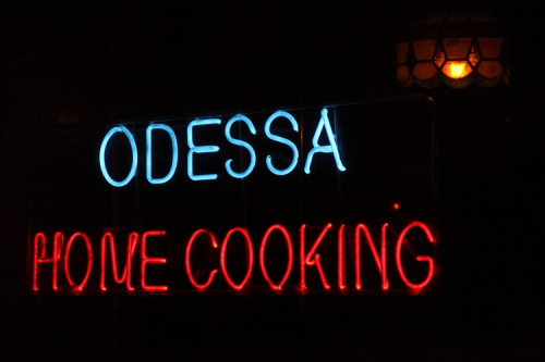 %22Odessa  home cooking %22 Avenue A  Manhattan