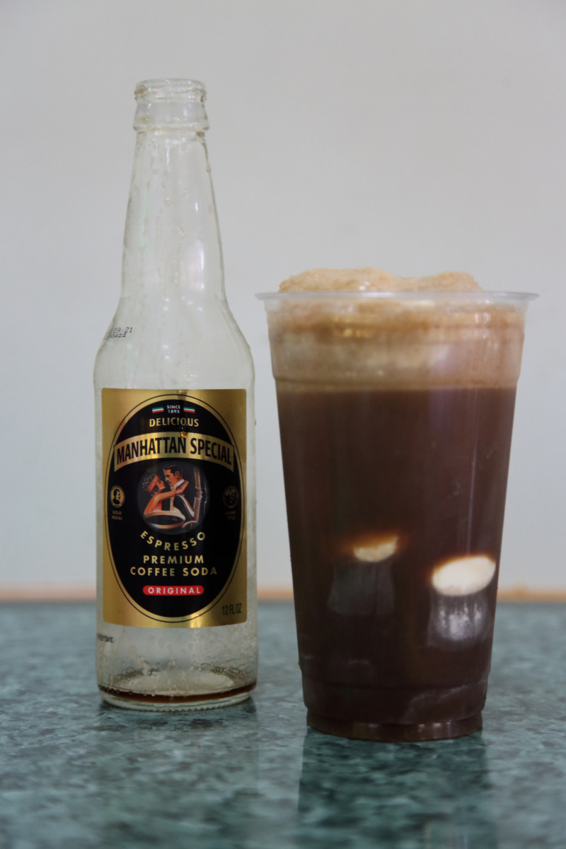 Coffee float  Mama's Backyard Cafe  Corona  Queens