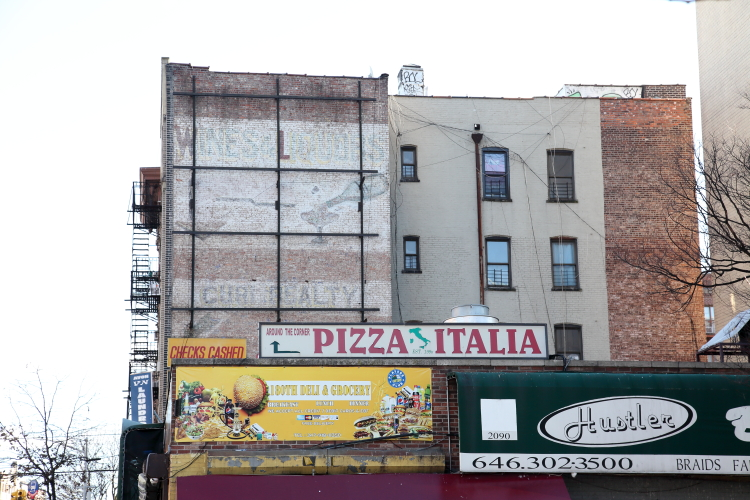 Wines & liquors  surviving signage  Tremont  Bronx