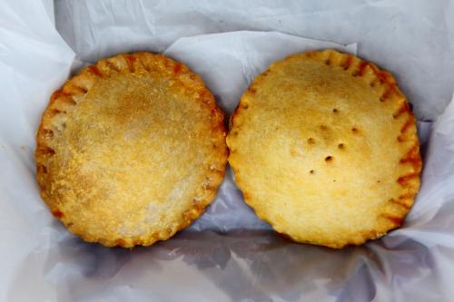 Beef and chicken pies  Bakewell Bakery & Restaurant  Richmond Hill  Queens